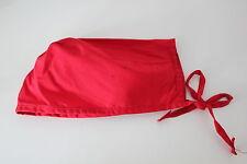 NEW Red Scrub Cap - Medical Surgical Nursing Vet Nurse Dentist - One Size