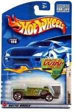 2002 Hot Wheels #108 Hot Rod Magazine Hooligan E910 crd