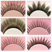 6 Pairs of False Fake Eyelashes Thick Long Natural Lashes - 6 Style Variety Pack