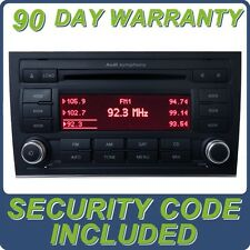 05 06 07 08 Audi A S 4 Symphony Satellite Radio 6 Disc CD Changer Player W/CODE