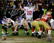 Eli Manning Signed NY Giants 2012 NFC Championship Game 8x10 Photo - Steiner