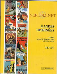 Catalogue Vente aux Enchères BD Drouot 17 décembre 2005