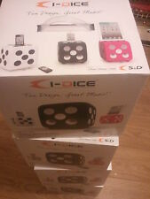 iDice Speaker Subwoofer 15w, Aux In, Docking Station for iPod iPhone iPad.