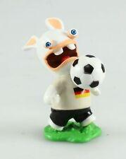 Figurine plastique Lapins Crétins (Les) Footballeur - drapeau allemand