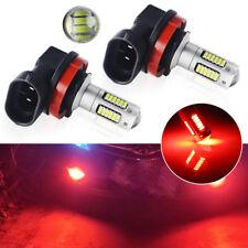 2pcs Brilliant Red H8 H11 LED Bulbs for Car Fog Lamp Daytime Running Lights&DRL