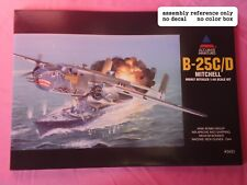 2 X 1/48 Accurate Miniatures B25 C/D
