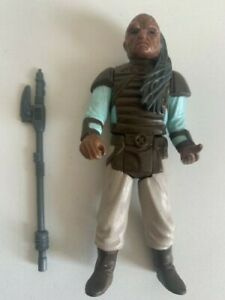 Vintage Star Wars Figure WEEQUAY 100% Original with Original Weapon