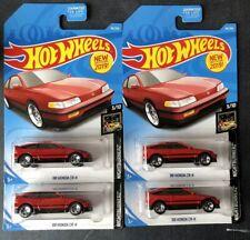 New!Hot Wheels 88 Honda Civic CR-X CRX 1/64 2019 Nightburnerz HTF JDM Rare Lot!