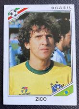 1986 PANINI MEXICO 86 ORIGINAL WORLD CUP BRAZIL ZICO 250 UNUSED