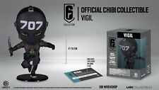SIX COLLECTION FIGURE VIGIL RAINBOW SIX SIEGE UBISOFT CHIBI FIGURE +DLC CODE INC