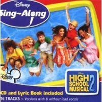 OST/HIGH SCHOOL MUSICAL - HIGH SCHOOL MUSICAL 2 SING-ALONG  CD 16 TRACKS NEU