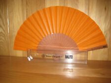 Veuve Clicquot Champagne Fabric Fan By BALITZ Brand new In Box