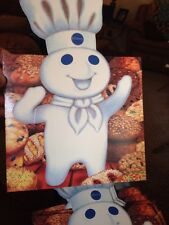 240 VINTAGE PILLSBURY DOUGHBOY COOKIE Holders, Cardboard New In Box