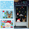 Christmas Wall Stickers Wall Window Glass Home Decoration Sticker Decal Mural