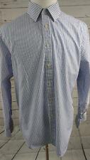 Charles Tyrwhitt Men's Long Sleeved Button Front Slim Fit Shirt 18-37 (M1)