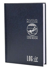 LOG-IT - Scuba Divers HARD COVER A5 Size Dive Log Book
