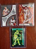 TYLER HERRO ROOKIE LOT, MOSIAC NBA DEBUT, FLUX, ROOKIE REFLECTION DWYANE WADE