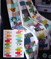 Stack It Up - quick and easy pieced quilt mini pattern - 2 sizes - Lynne Wilson