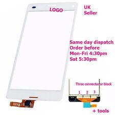 Sony Xperia Z3 Mini Compacto D5803 D5833 Pantalla Táctil Panel Digitalizador Cristal Blanco