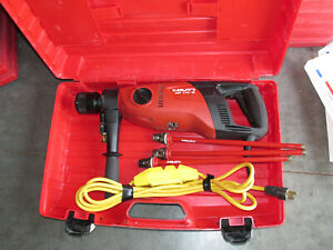 HILTI DD-110W 115V/AC  core drill coring system kit, COMBO &  USED (946)