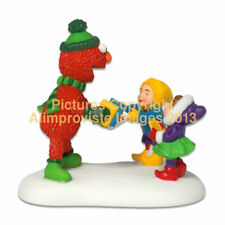 Dept 56 North Pole Christmas Gifts From Elmo! 57216 NeW! Mint! FabUloUs!