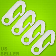 4 Pcs Nylon Flag Pole Clip Snaps Hook Flag Pole Attachment  - NYLON CLIPS