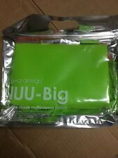 NUU Big SILICONE MULTIPURPOSE POUCH POUCH P+G DESIGN Green