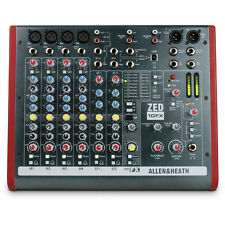 Allen & Heath ZED-10FX - 10 Channel USB Mixing Desk With FX - New & Sealed