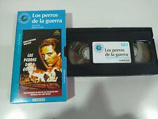 LOS PERROS DE LA GUERRA WALKEN JOHN IRVIN - Pelicula VHS Castellano