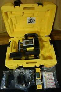Leica Rugby 6016027 CLA Active Red Beam Self Leveling Laser Level    NEVER USED