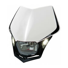 MASCHERINA PORTAFARO RACETECH V-FACE LED BIANCA (White Headlight) R-MASKBNNR009