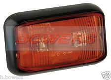 LED Autolamps 58rme 12V / 24V POSTERIORE ROSSA contrassegno Posizione Lampada / Luce Camion Rimorchio