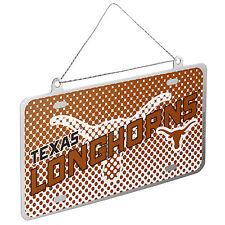 Texas Longhorns NCAA Metal License Plate Christmas Ornament by FC 273818