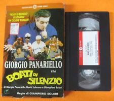 VHS film BOATI DI SILENZIO Giorgio Panariello CECCHI GORI Solari (F59) no dvd
