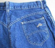 Vintage Chic Jeans Women's Size 20 USA 1980's Blue Denim Pants 32x31 High Waist