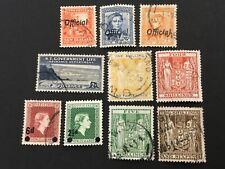 old stamps NEW ZEALAND  x  10