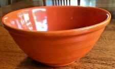 Vintage Pacific California Pottery 9R Mixing Bowl Radioactive Red. Geiger Tested
