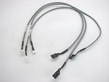 """(3) Compaq Audio/Sound Cables Drive to Motherboard 171891-002 4-pin 22"""" (t42)"""