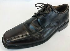 Vintage Florsheim Brown Leather Bicycle Front Comfort Dress Shoes Size 12 Eee