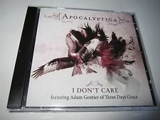Apocalyptica I Don't Care CD Single Feat.Adam Gontier Of Three Days  Grace Promo