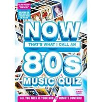 NOW THAT'S WHAT I CALL A MUSIC QUIZ THE 80S INTERACTIVE DVD UK Rel New Sealed R2