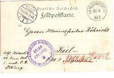 1901 Germany Offices China Boxer Rebellion Post Card Peking Kaiserliche Marine