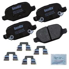 Disc Brake Pad Set-Premium Copper Free Ceramic BPR Disc Brake Pad Rear fits 500