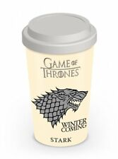Game Of Thrones House Stark Wolf Crest Sigil Travel Coffee Mug Tea Official