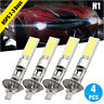 4x H1 LED Headlight Hi-Low Beam Fog BULBS SMD CREE White bulbs Vehicle 100W JOY