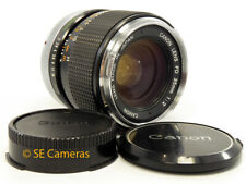 CANON FD 35MM F2 CHROME NOSE WIDE ANGLE LENS *EXCELLENT* VERSION II CONCAVE
