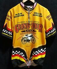 Hot Shoppe Designs Bicycle Jersey Vintage Grand Tour XL Z6