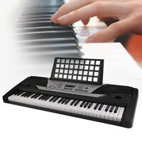 Digital Piano Keyboard 61 Key - Portable Electronic Instrument Beginner Practice