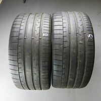 2x Continental SportContact 6 MO 295/40 R20 110Y DOT 5017 5 mm Sommerreifen