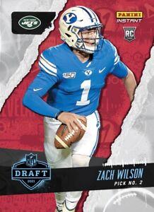 2021 Panini Instant Draft Night Zach Wilson PRESALE